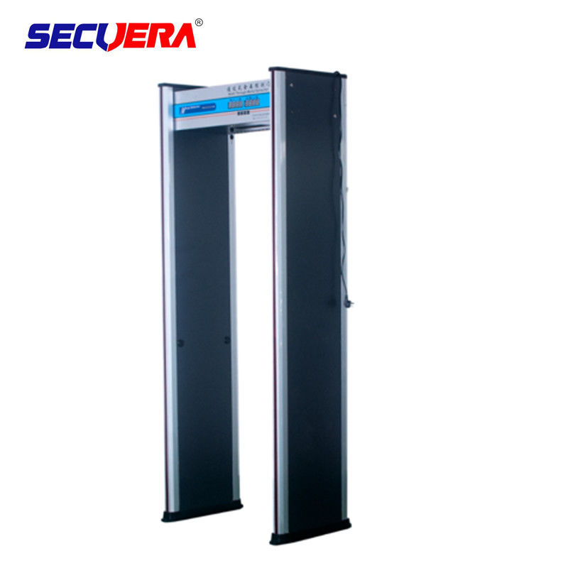 walk through metal detector Metal Detector Door Frame With 6 / 18 Alarm Zone door frame metal detector